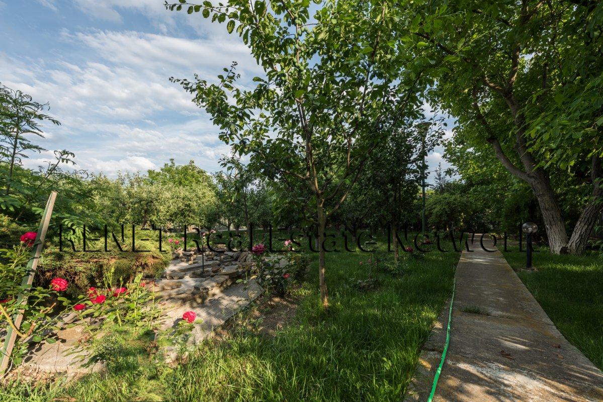 Casa cu teren 3500 mp in Peris, sat Balteni, Padurea Scrovistea cu comision 0%